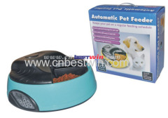 6 meal LCD automatic pet feeder 2014 new products
