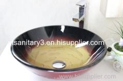 tempered glass sink toughen glass basin