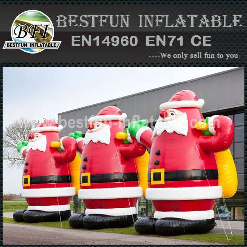 5m outdoor inflatable santa for christmas