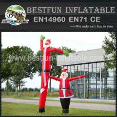 Christmas inflatable Skydancer Santa Claus