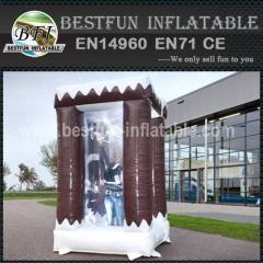 Inflatable Cabin Silver Winter