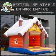 Bouncy Castle Cottage Snow