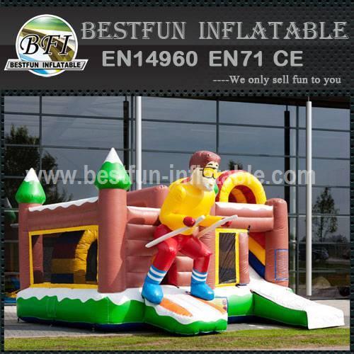Bouncy castle Multiplay Skier