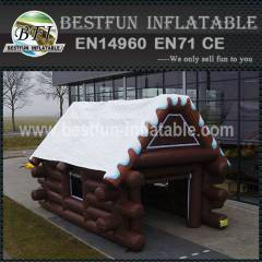 Chalet Inflatable for exhibition