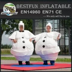 Costume Sumo Suit Snowman