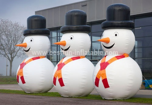 Christmas giant inflatable snowman