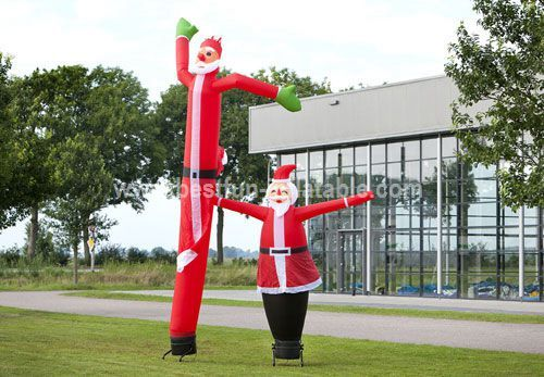 Inflatable advertising Santa Claus Sky Dancer