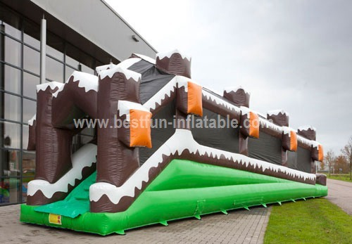 Inflatable Roller Winter Slide for Adults