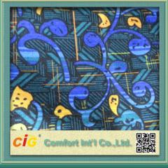 China New Design Colorful Jacquard Car Fabric