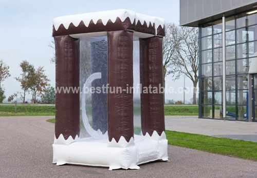 Money Catching Inflatable Cabin