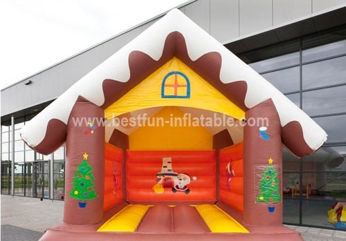 Outdoor Inflatable Christmas Bounce House