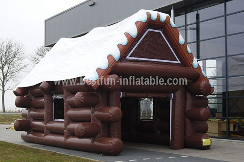 Small cabin cartoon inflatable tent