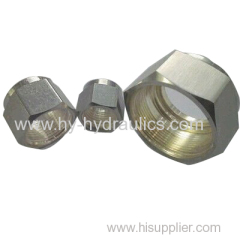 Hydraulic metric nut brass hex nuts SS NUTS