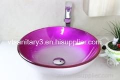 Yosemite Home Decor glass basin toilet sink