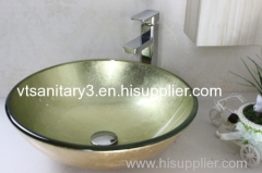 semi-counter glass basin under-counter glass basin