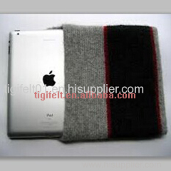grey wool Felt Case for iphone and laptop