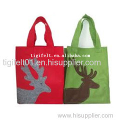 Eco-friendly Fashion Shopping Felt Bag