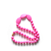 Silicone baby teething necklace for woman jewelry