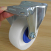 White PA industrial casters