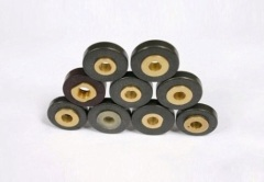 Permanent injection molded magnets