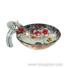 porcelain vessel sink ceramic bathroom basin