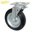 8 inches garbage container plain bearing swivel casters