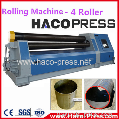 Stainless Steel Plate Rolling Machining South Africa: Rolling Machine 4 Roller Plate Bending Machine W12-16x3200