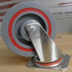 5 inches high load capacity sandwich swivel casters