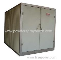 powder coat oven build