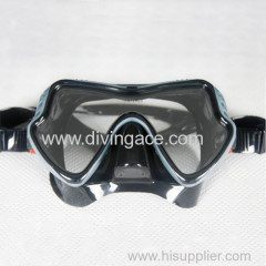 2014 professional diving silicone full face diving mask