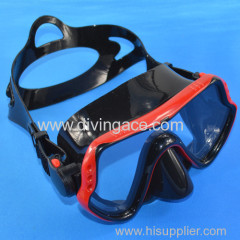 professional scuba free diving mask for adult/cheap equipment for scuba diving mask