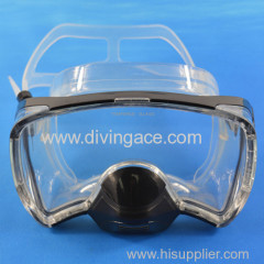 high quality silicone rubber carbon fiber water transfer masks for hunting and fishing