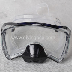 full face diving/making silicone masks wide sight /wholesale hunting and fishing