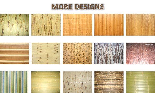 Itu0027s Sure To Bring Good Natural Cool Feeling Of Bamboo Wall Covering  Decoration !
