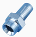 Hydraulic Pipe Fittings BSP Male 60° cone seat 12611