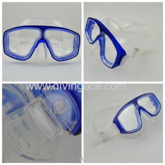2014 hot sale silicone rubber swimming mask for kids