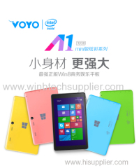 "8 ""VOYO Winpad A-1 MINI Intel Z3735f Quad Core windows 8.1 IPS 2GB + 32GB Dual Camera HDMI Russian windows tablet pc"