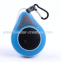 IPX7 Mini Ultra Portable Waterproof Bluetooth Wireless Stereo Shower Speaker with Hook from China manufacturer