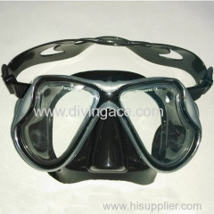 2014 scuba diving equipment silicone rubber diving mask