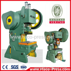 Mechanical Single Crank High Speed Precision 25tons Power Press Machine