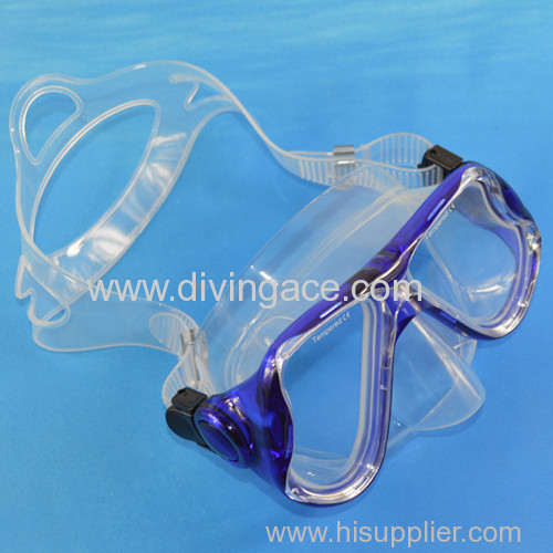 Scuba diving equipment diving mask / liquid silicone diving mask
