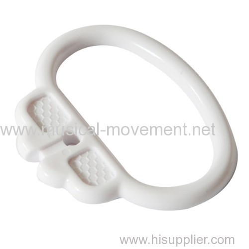MUSICAL PULL STRING TOYS RING HANDLE