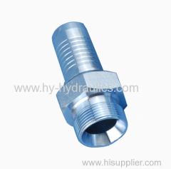 (BSP male double use for 60degree cone seat or bonded seal)hose hydraulic fitting 12611A