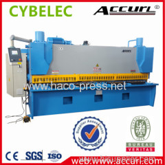 Accurl Brand Hydraulic Metal Shearing Machine QC12Y-4x2500 E21 for Cutting Sheet Meta Plate