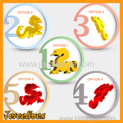 Cool Silicone Chinese Dragon Ice mould