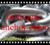 galvanized marine link chain studless link chain