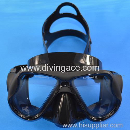 2014 China hotsale water sports products camouflage diving mask series