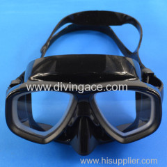 2014 hot selling tempered glass mask for diving