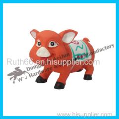 cute plastic pig toys
