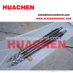 SKD Inner case conical twin screw barrel for plastic extrude machines